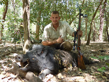 Mr Kosa from Hungary with a good Carmor Plains wild boar