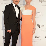 WWW.ENTSIMAGES.COM -    Christoph Waltz and Emily Blunt  arriving at       IWC Schaffhausen and BFI London Film Festival - private dinner at Battersea Evolution, London October 7th 2014Swiss watch brand and British Film Institute host party to celebrate their three year partnership.                                                Photo Mobis Photos/OIC 0203 174 1069