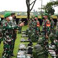 Asops Kasad Cek Kesiapan Operasi Satgas Yonif 315/Garuda Ke Papua