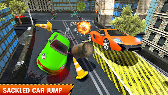 Game Chained Car Stunt 3D : Impossible Tracks Racing APK for Windows Phone
