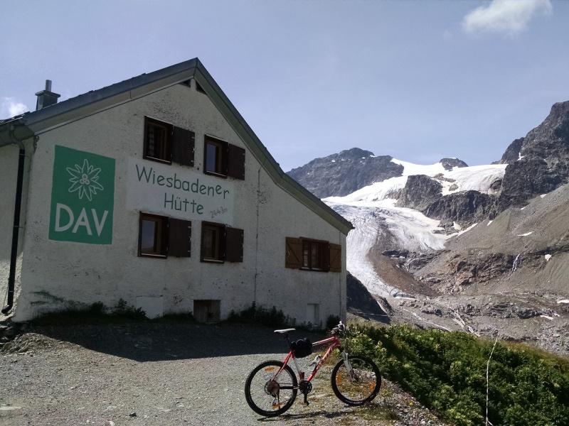 Silvretta High Alpine Road • Wiesbadener Hütte