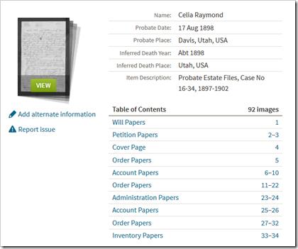 Ancestry.com..'S概述集合利用新的探测包网站特征。