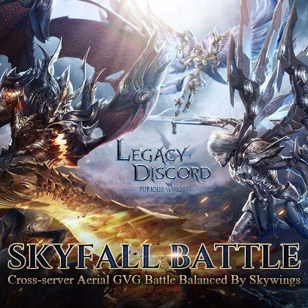 Legacy of Discord Skyfall Güncellemesi