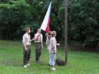 Vztyčení vlajky