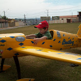 Rafael Andriolli, Piloto de Aeromodelo, Gilles