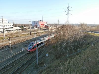 Am Zentralverschiebebahnhof Simmering