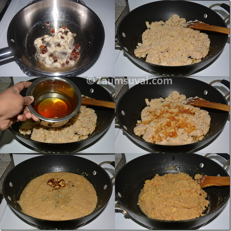 Cracked wheat sarkkarai pongal