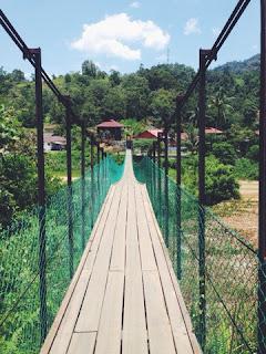 Hanging Bridge Kolong Pahat