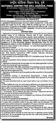 NCCS-Pune-Notification-2017-www.indgovtjobs.in