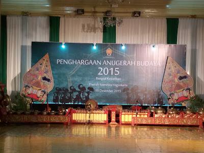 Penghargaan Anugerah Budaya Kota Yogyakarta
