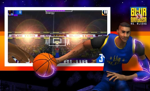 Basketball vs Aliens- screenshot thumbnail