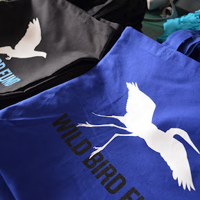 Two color prints on BagEdge totes for Wild Bird Fund