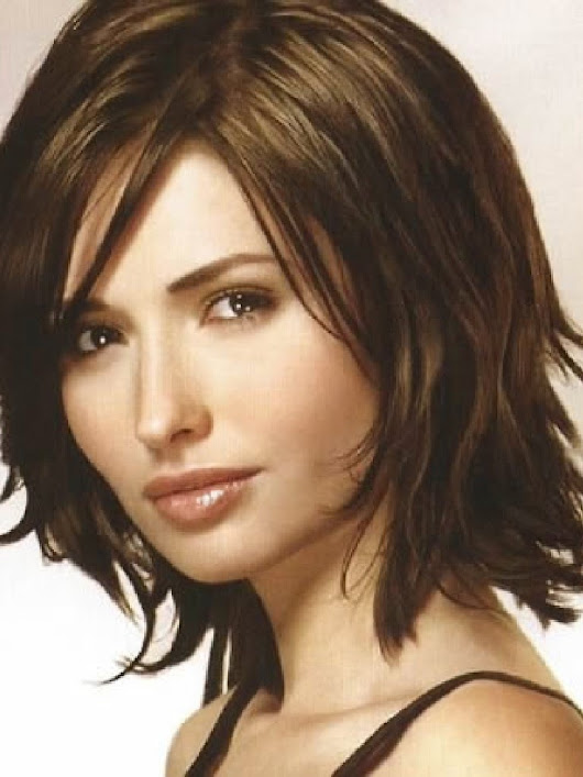 Need hair inspiration? You can try Layered Medium Hairstyles Round ...