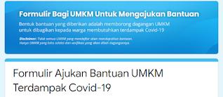 Cara Daftar KTBS in Borong UMKM