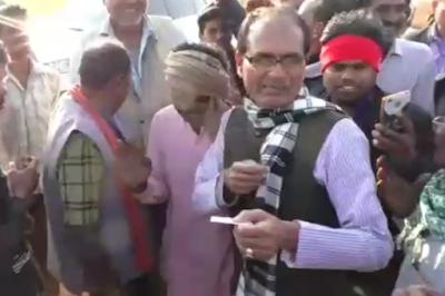 शिवराज पहुंचे विदिशा कांग्रेस मंत्रिमंडल पर साधा निशाना....?