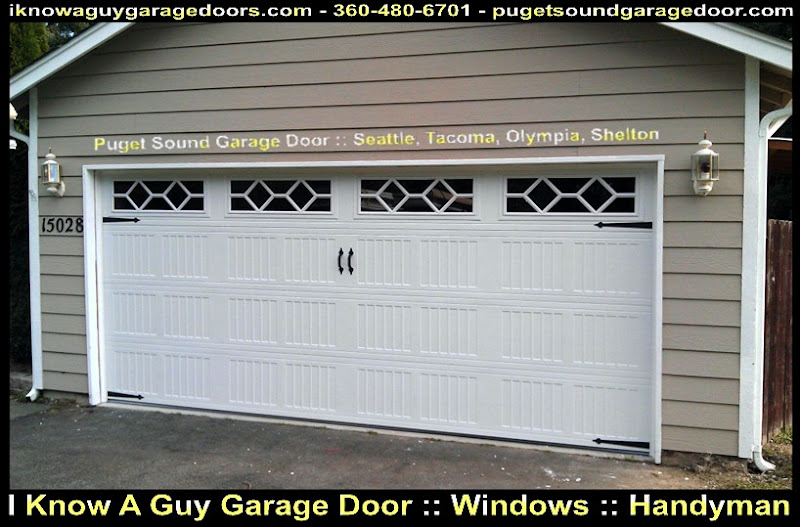 Garage door kennydale wa gdor seattle tacoma olympia for Garage door repair tacoma
