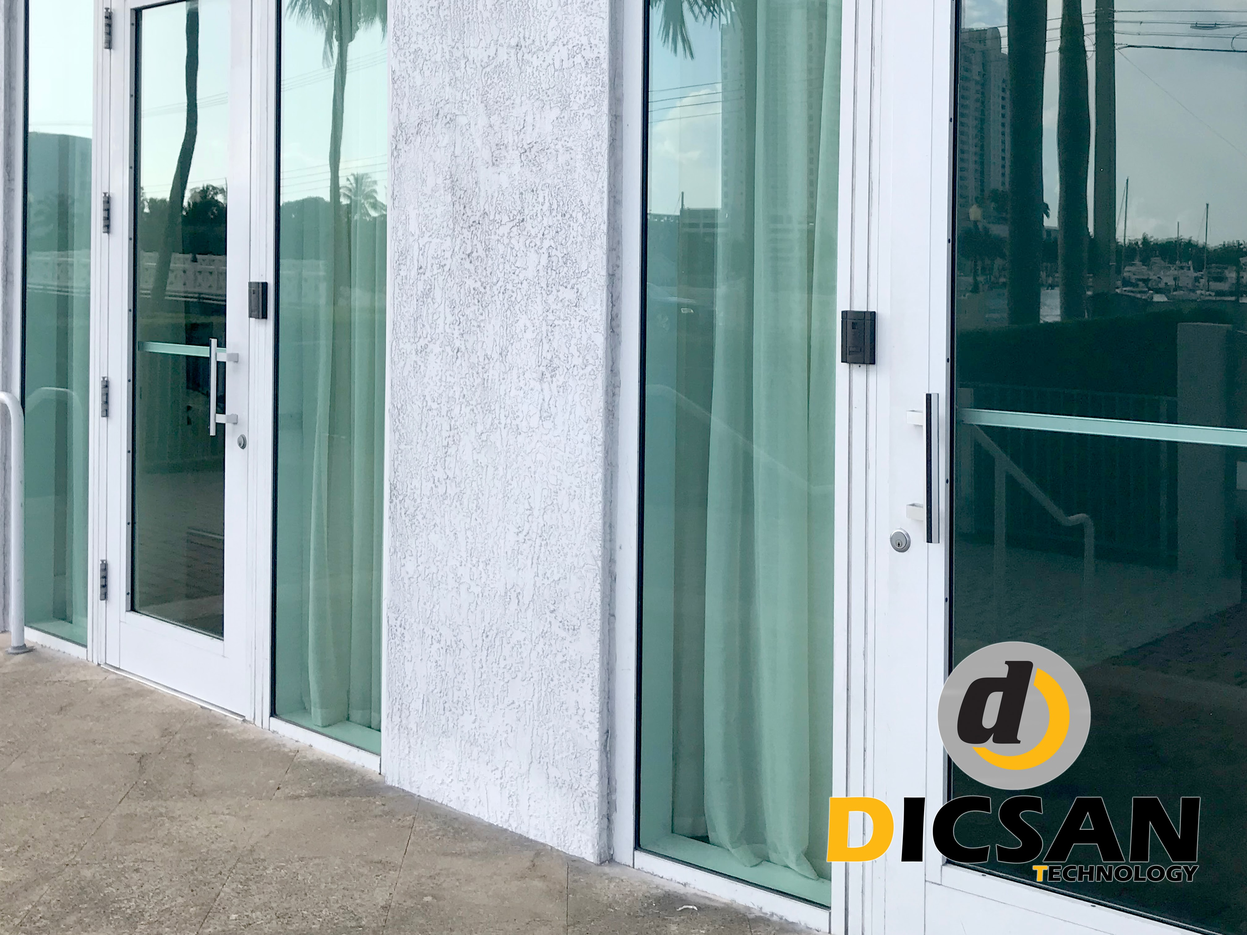 Millennium Access Control System at Condominium in Miami Beach