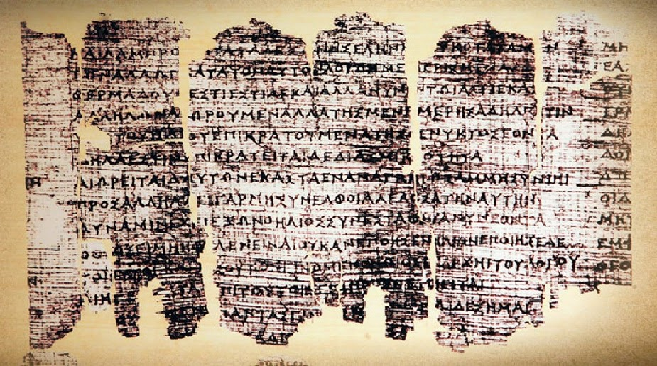 Derveni Papyrus candidate for UNESCO List
