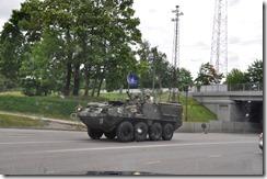 troupes Estonnienes en maneuvres