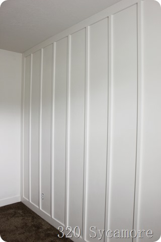easy board and batten wall