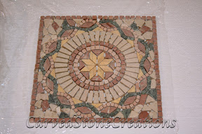 Cream, Flooring, Flooring & Mosaics, Green, Interior, Marble, Mosaic, Natural, Red, Stone, Tile, Travertine, Tumbled, Yellow