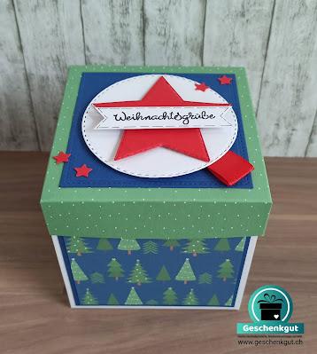 Geschenkbox mit Schneekugel