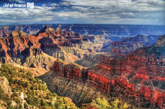 عجائب الدنيا السبع الطبيعية Grand_canyon_scenery-12355
