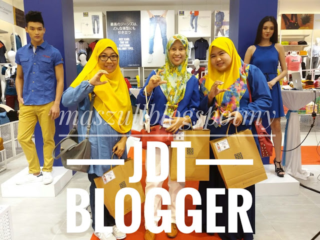 JDT BLOGGER : FIRST TIME JUMPA