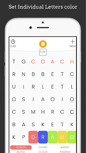 Word Search Puzzle Game screenshot 7