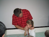 Bethanie's baptism
