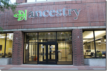 Ancestry ProGenealogist Salt Lake offices