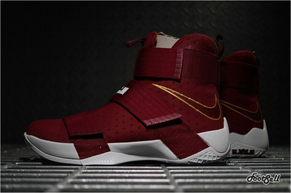 75482324adc2b Detailed Look at Soldier 10 CTK T Thompson Edition Rocked by LBJ . Nike LeBron  Soldier 10 Suede Toe ...
