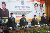Rapat Paripurna LKPJ Akhir Tahun Anggaran 2020 dan Akhir Masa Jabatan Wali Kota Mataram 2015 - 2021