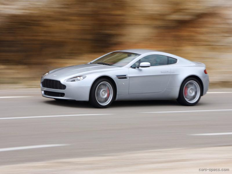 2007 aston martin v8 vantage coupe specifications. Black Bedroom Furniture Sets. Home Design Ideas