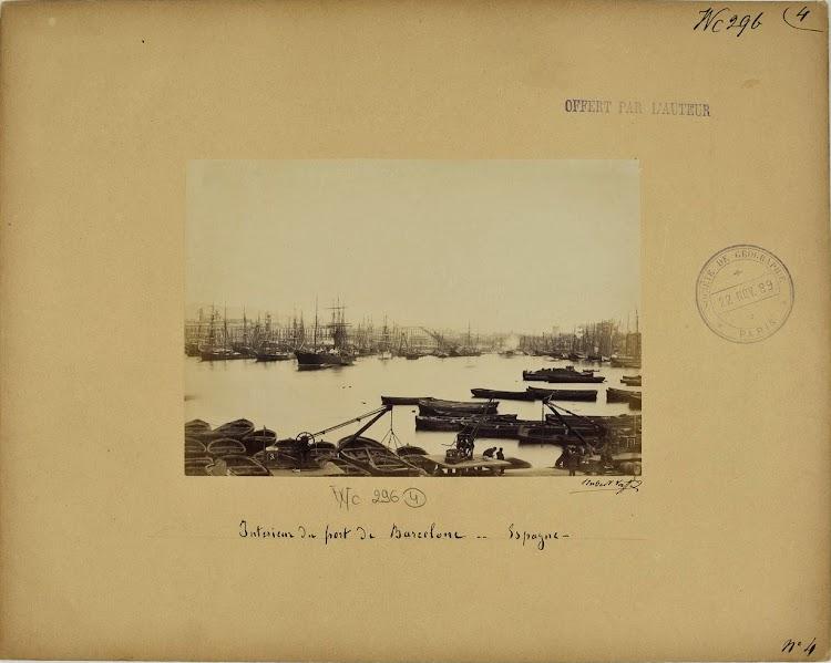 Puerto de Barcelona. Fecha indeterminada, hacia 1875. Vaffier Hubert.tif
