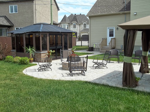Pro paysage construction de votre terasse arri re for Patio exterieur arriere