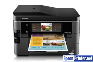 How to reset Epson WorkForce 845 printer