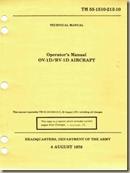 Grumman OV-1DRV-1D Mohawk Operators Manual_01