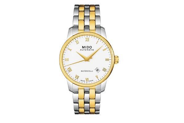 mua chung, Đồng hồ nam cao cấp chính hãng Mido Baroncelli M86