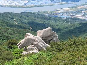 금정산 호포 암릉코스