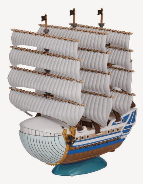 Mô hình One Piece Moby Dick với những mảnh ghép lớn cho bé rèn luyện sự kiên nhẫn