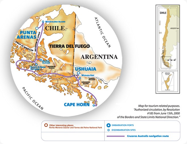 tierra-del-fuego-via-australis-stella-australis-ushuaia-punta-arenas-map-english