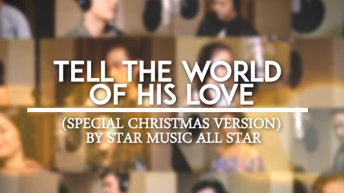 Tell The World Of His Love - Christmas version