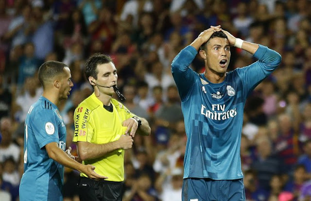 Barcelona vs Real Madrid: Cristiano Ronaldo Faces 12-match Ban After Red Card