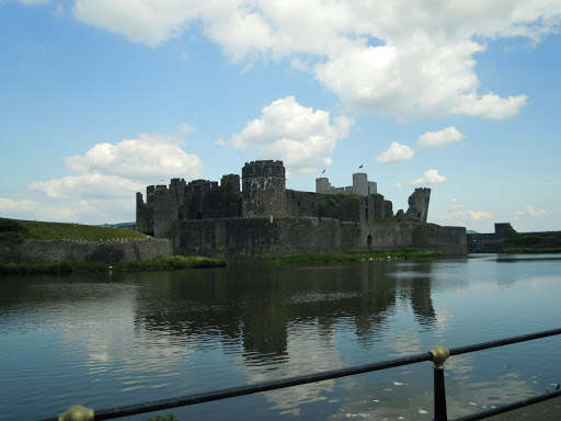 Caerphilly Castle. From Best Museums in London and Beyond