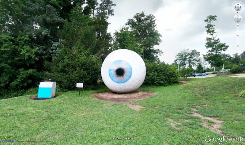 """The Eye"" : sculptures de Tony Tasset 91056"