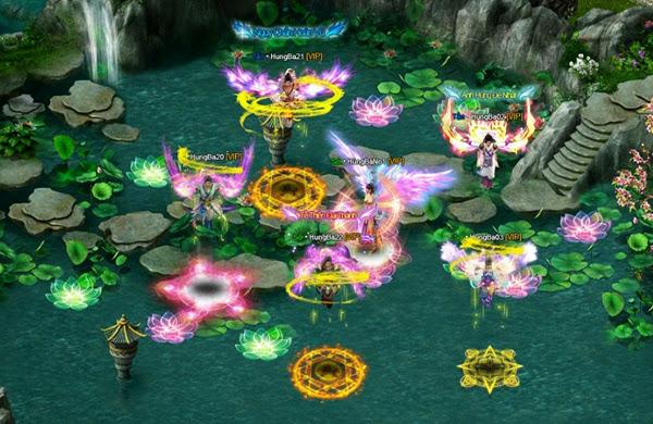Tỏa sáng cùng cánh thiên thần của Hùng Bá Thiên Hạ 3