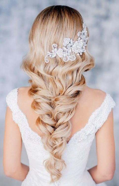 Long Hairstyles for Wedding-the best trend for 2018 8