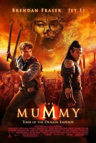 Poster Of The Mummy: Tomb of the Dragon Emperor (2008) Full Movie Hindi Dubbed Free Download Watch Online At Alldownloads4u.Com