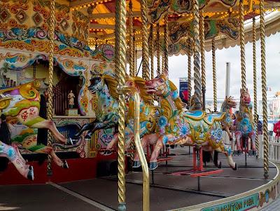Merry-go-round at Brighton Pier